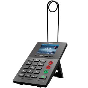 "Perfil: Call Center Pantalla: Color 2,8"" 320x240 px  Líneas SIP: 2  Velocidad de Puertos: Mini Switch 10/100"